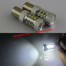 80W 2PCS 1156 CREE LED Car Turn Brake Head Light Lamp Bulbs Super Bright White