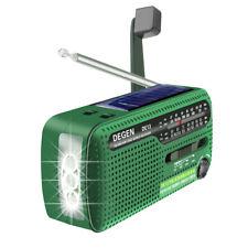 DEGEN DE13 Notfall-Solarradio FM/AM/SW Handkurbel-Dynamo-Empfänger für Camping