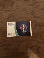 Sammlerticket Metro Fußball Europameisterschaft 2016 Frankreich Marseille
