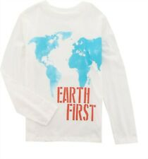 Lands' End B GRAPHIC TEE Earth First S # 486138