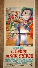 LE LION DE SAINT MARC ! gordon scott affiche cinema 1963