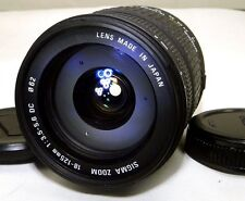 Sigma AF 18-125mm f3.5-5.6 DC Lens 4/3 Mount Evolt Olympus E520 E620 Four Thirds
