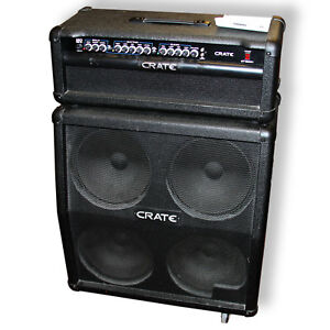 """Crate GT1200H 3 Channel Amplifier With Matching 4x12"""""""