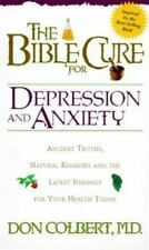 Bible Cure For Depression/Anxiety (Fitness and Health) by Colbert MD, Don