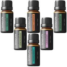 Conjunto de 6 Aceites Esenciales Para Difusor de Aromaterapia 10ml / 1 Botellas