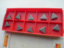 10 Sandvik cermet tips TPMR 11 03 04-53 5015 ( TPMR110304 110304 TPMR221 221 )
