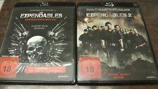 Expendables 1 & 2 Blu Ray Uncut Versionen