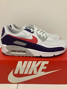 Nike Air Max 90 Eggplant Women's Classic Athletic Sneaker CW1360-100 size 11.5