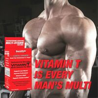 Muscle Meds Men's VITAMIN T Multivitamin Testosterone & Muscle Booster 90 tabs