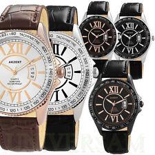Analoge Akzent Armbanduhren mit Datumsanzeige für Erwachsene