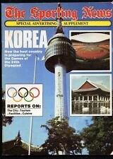 The Sporting News Magazine, Seoul 1988, Games of the XXIV Olympiad