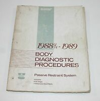 1988 3/4-1989 Chrysler Dodge Body Diagnostic Procedures Manual USED CONDITION