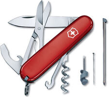 1.3405 VICTORINOX SWISS ARMY POCKET KNIFE COMPACT RED 15 TOOLS VI54941 54941 z
