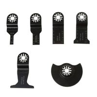 6PCS Saw Blades Oscillating Multi Tool Accessories Kit For FEIN BOSCH