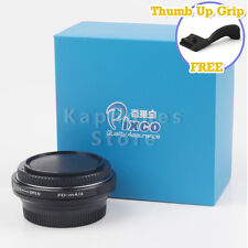 Camera Speed Booster Focal Reducer For Canon FD Lens to Micro 4/3 m43 GX7 E-PL6