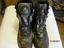 Rocky Boots 10.5 M Camo Boots Insulated Boots 400 G Hunting Boots Water Proof