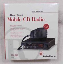 Radio Shack TRC-520 40-Channel Dual Watch CB Radio Compass Weather Alerts * NEW
