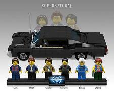 READ DETAILS, PC FILES ONLY, NO BRICKS, Supernatural Impala, MOC, Lego .LXF File