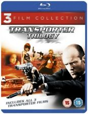 Transporter Trilogy 1 + 2 + 3 Blu-ray Region B New (Jason Statham 3 Discs)
