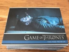 Game Of Thrones Season 6 Complete Set Of 100 Base Cards