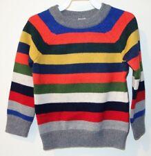 New W/Tags Baby Gap Striped Sweater Boys Size 5/5T