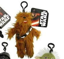 "STAR WARS Classic Official 8"" CHEWBACCA Super Deformed Clip PLUSH Key Chain"