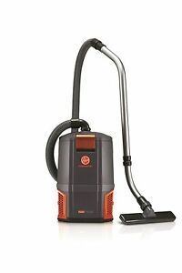 Hoover Commercial HushTone Back Pack 2 Speed Motor 6 QT CH34006 Extension Wand