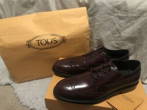 Brand New Tod's Man Lace Up Shoes Size 9