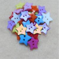 lot Bouton Etoile 12 mm Multicolore Scrapbooking Mercerie couture art décoration