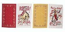 Ride Em Cowboy and Bandana Dish Towel Set By Moda Home Towels Dishcloths Linens