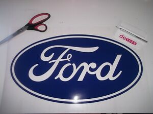 Ford oval  Large ..Decals Stickers..........x2......