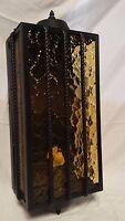 RETRO Outdoor Wall Lamp Antique Black Cast Aluminum -- Brand New Condition