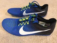 separation shoes 2b7cf bd16c NWOB Nike Zoom Victory 3 Distance Piste Clous Homme Taille 12 Bleu Noir