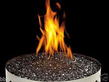 Gas Fireplace Black Glass Ember Media Kit MKGK New