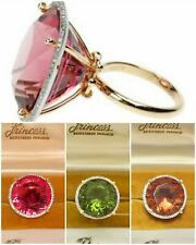 14K GOLD 50CT ROUND DIAMOND CUT ALEXANDRITE WOMEN ENGAGEMENT RING COLOR CHANGE