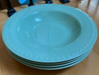 "Gail Pittman HOSPITALITY SAGE Green 10"" Pasta Bowls Set of 4"