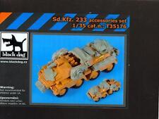 Blackdog Models 1/35 GERMAN Sd.Kfz. 233 ARMORED CAR Resin Accessory Set