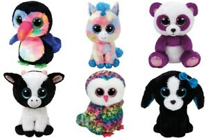 """Ty Beanie Boos regular 6"""" or 15 CM - Buy Lot of 2 or 3 Other"""