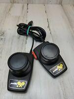 Vtg Atari 2600 Duel Paddle Controllers Pong Tennis OEM CX-30