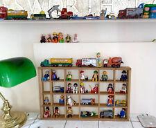 ❤️WOODEN CURIO Ornament Display Wall Shelf Printers Drawer Miniature Thimble