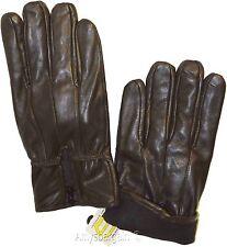 Men's Gloves, Zip up Men's Leather Gloves, Winter Gloves, New lined warm Gloves