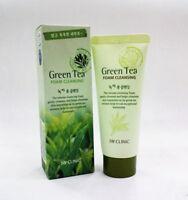 3PCS 100ml Green Tea Cleansing Foam Clean Cleanser Korea Cosmetics New Beauty