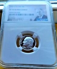 1992-S NGC PF70 ULTRA CAMEO SILVER ROOSEVELT DIME  .10C