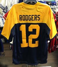 Men's Green Bay Packers Aaron Rodgers Limited Jersey NFL Football Large Alt Navy