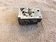Vintage 1962 Kenmore Electric Range Stove Burner Infinite Switch Original Parts
