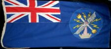 BRITISH ARMY MINISTRY OF SUPPLY BLUE ENSIGN LINEN FLAG. Circa.1908's