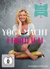 SUSANNE FRÖHLICH - YOGA MACHT FRÖHLICH DVD NEU