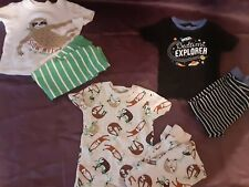 Carters Boys' Size 2T Pajama Sets Long Sleeved Cozy Warm Stretchy Soft Cotton