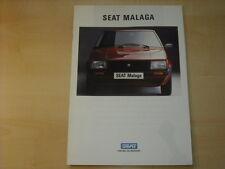60280) Seat Malaga Prospekt 198?