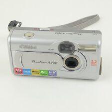 Canon PowerShot A300 3.2MP Compact Digital Camera - Silver
